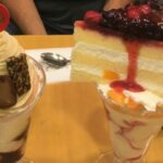 Mior Cafe's Towering Cake Parfaits