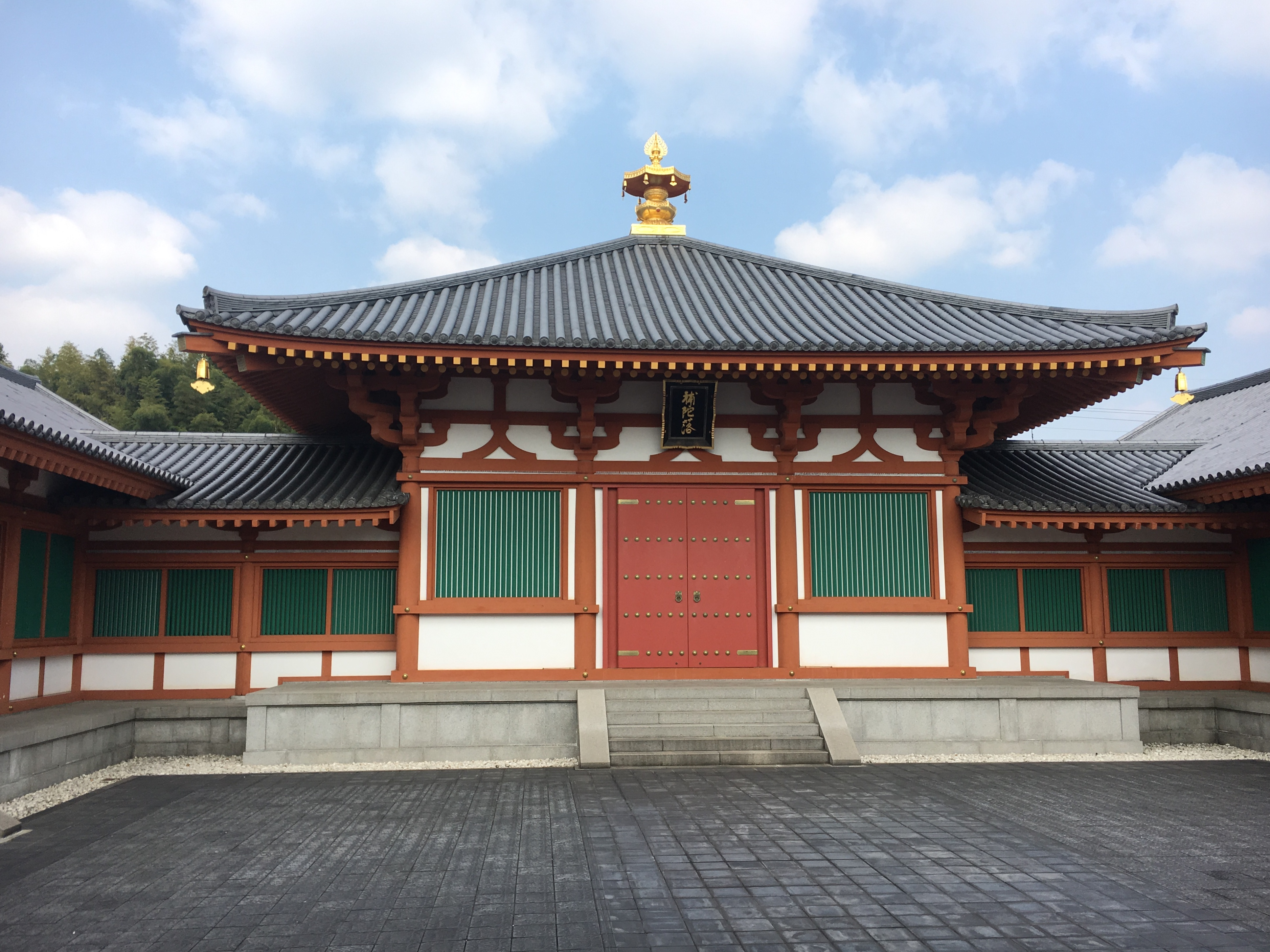 one of Horyu-ji Temple's national treasures the Daizoho-in