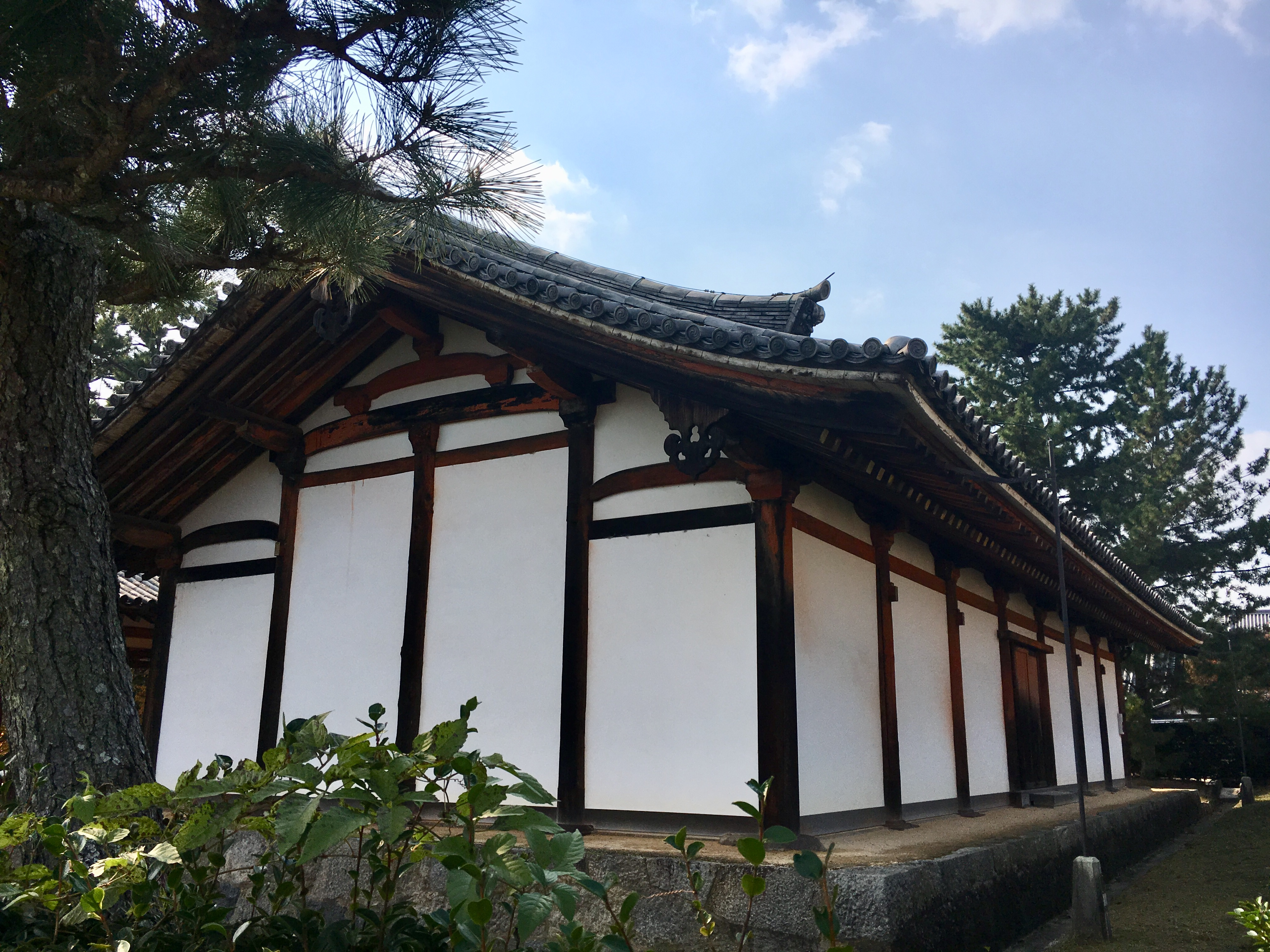 Jikido, an old cafeteria building at Horyu-ji temple