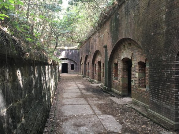 """Tomogashima Island: Military Ruins and a """"Castle in the Sky""""?"""