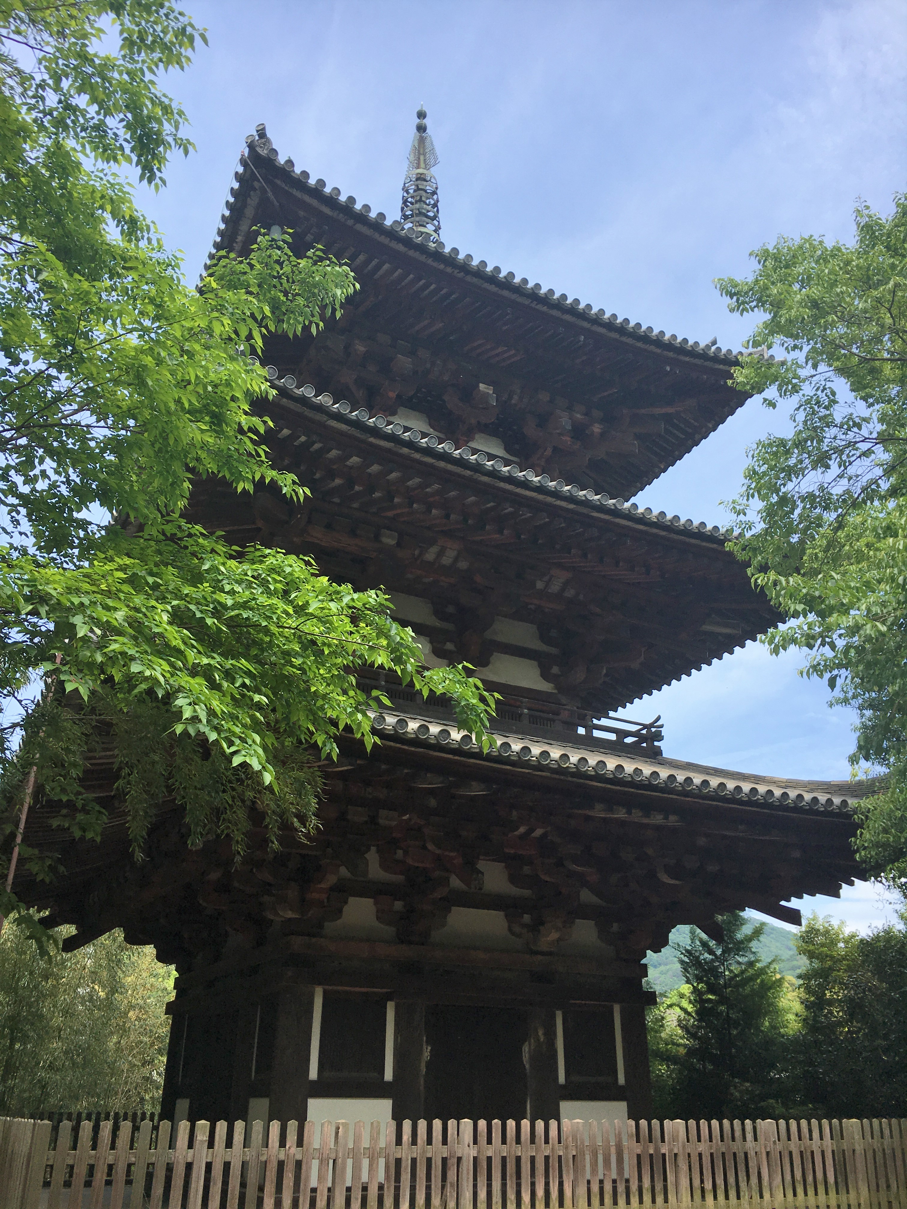 To-in pagoda of Taima-dera