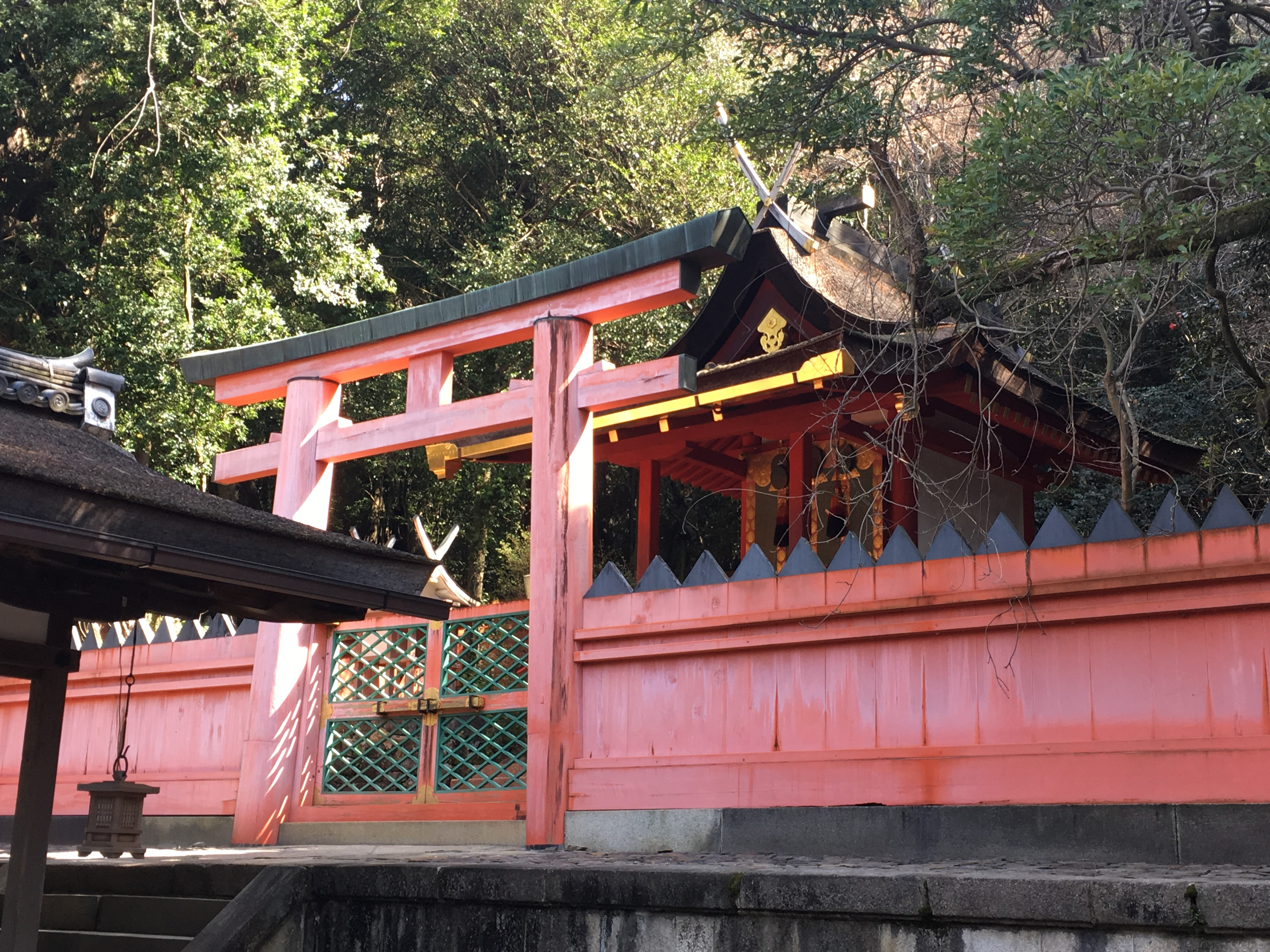 wakayamiya shrine at kasuga taisha
