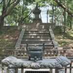 Toshodai-ji, the Resting Place of Ganjin