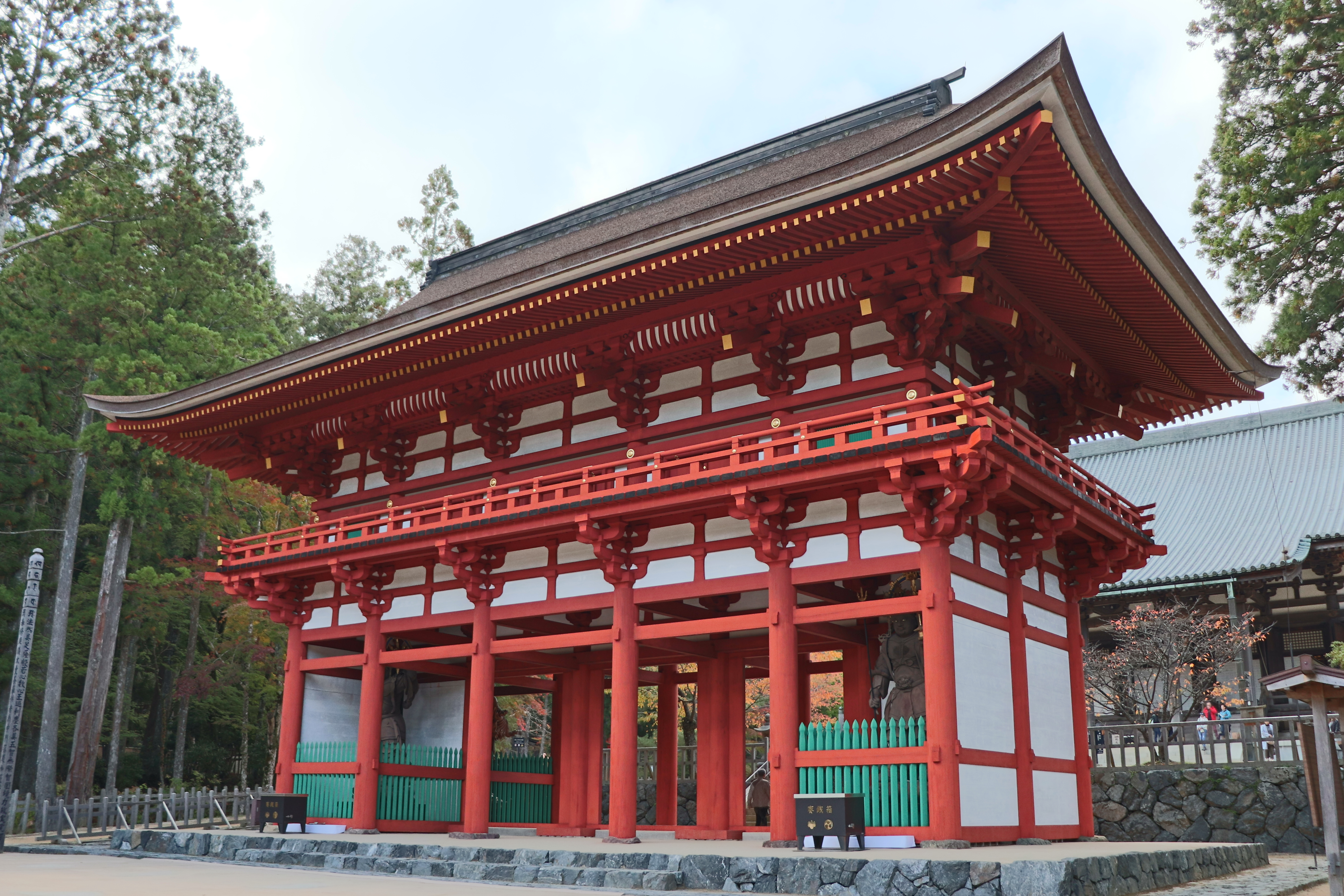 Chumon Gate of Koyasan's Danjo Garan