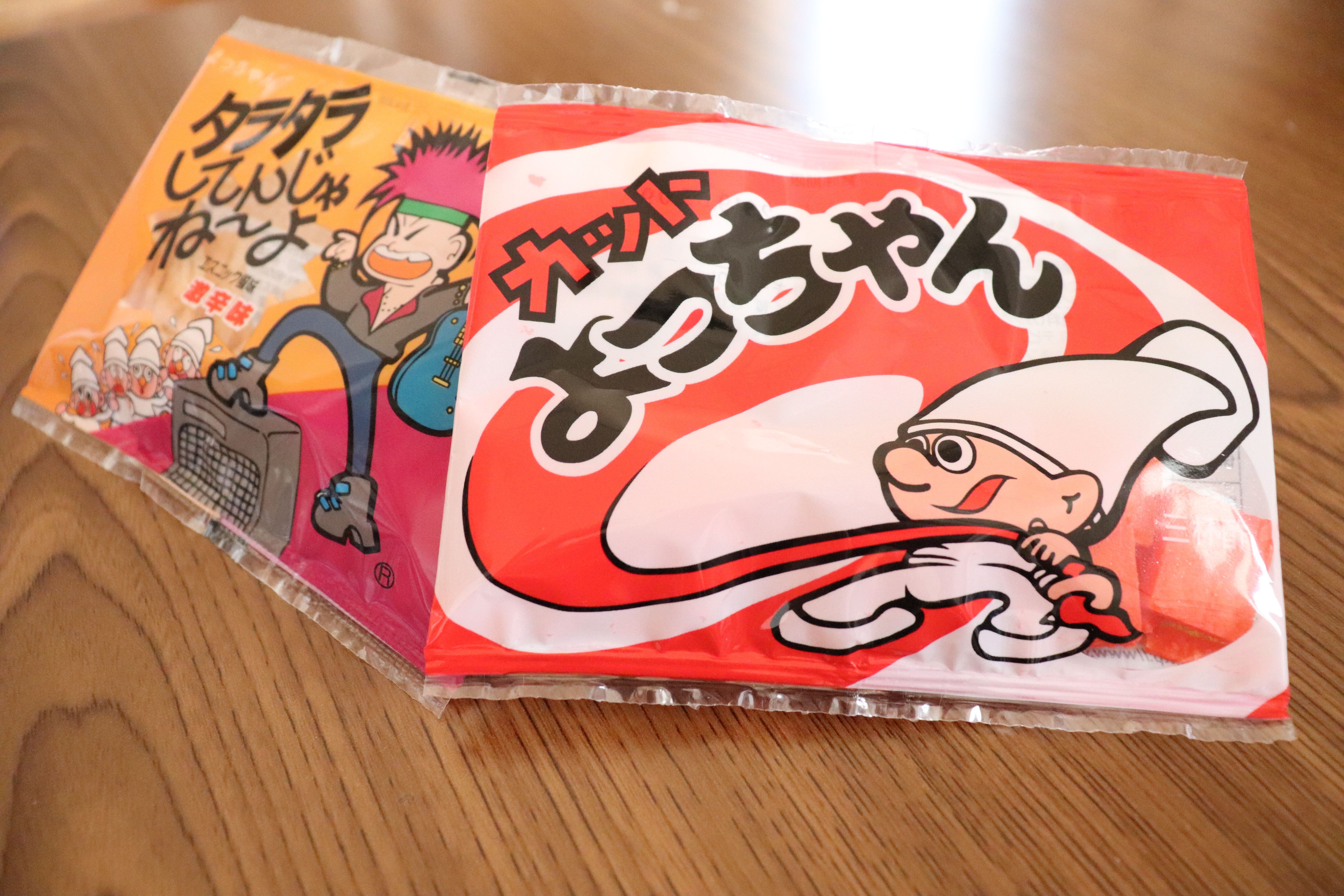 Yocchan ika a kind of Japanese dagashi snack