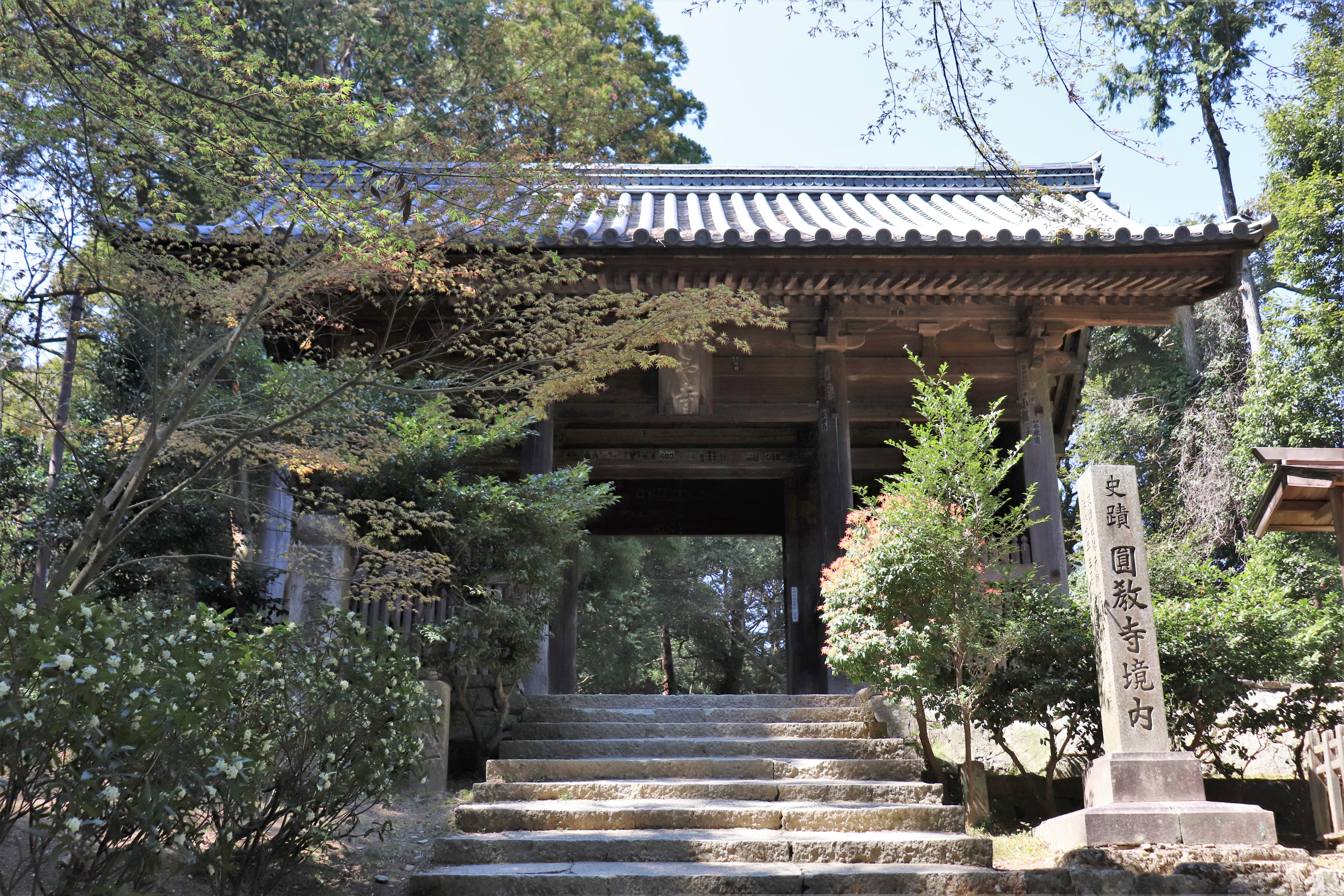 Niomon gate of Engyo-ji Temple