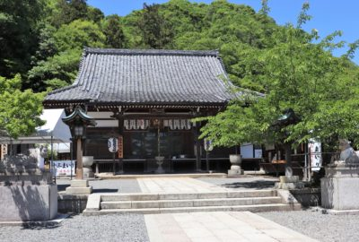 Main prayer hall of Horin-ji Temple in Arashiyama