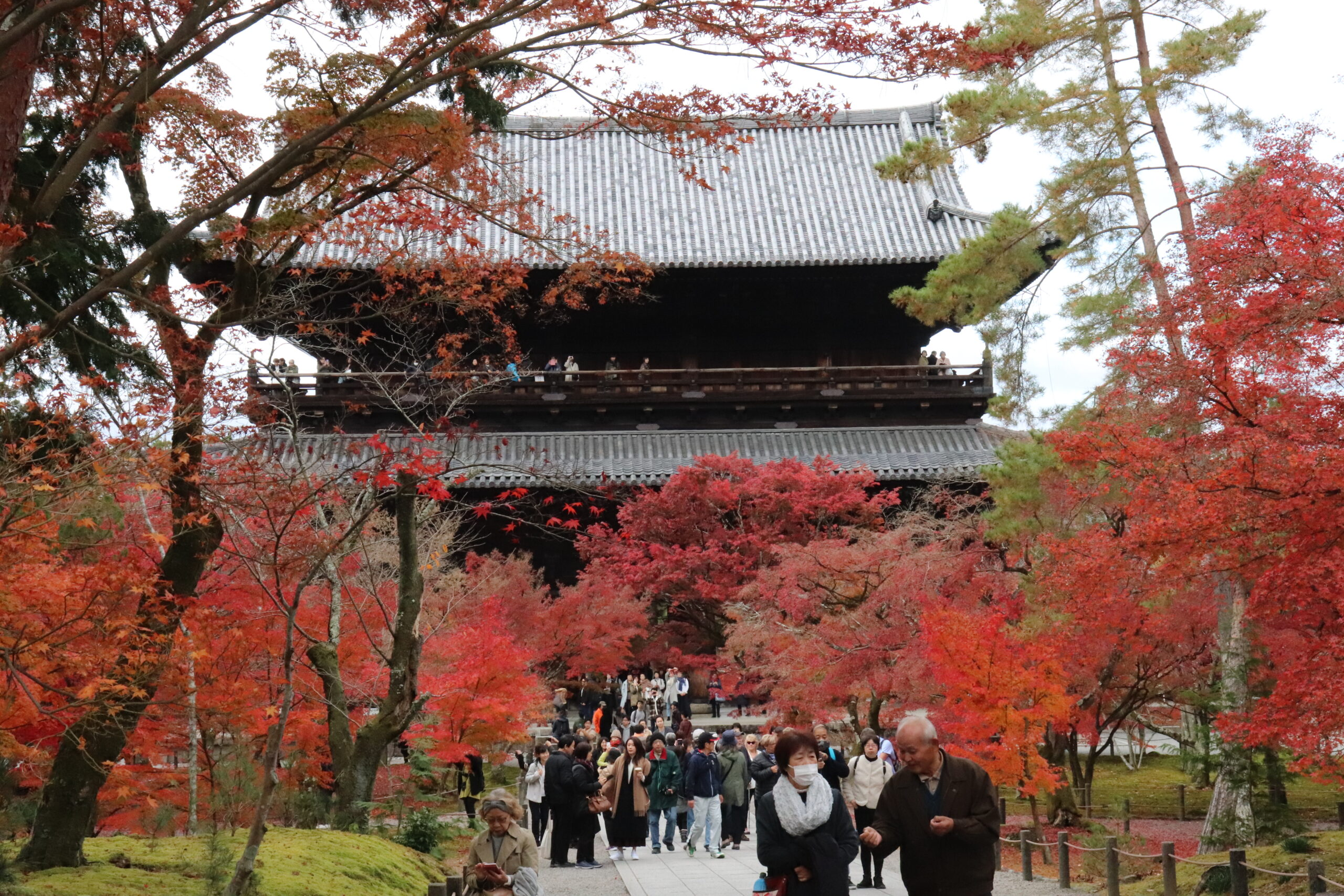 Nanzen-ji Temple in the fall