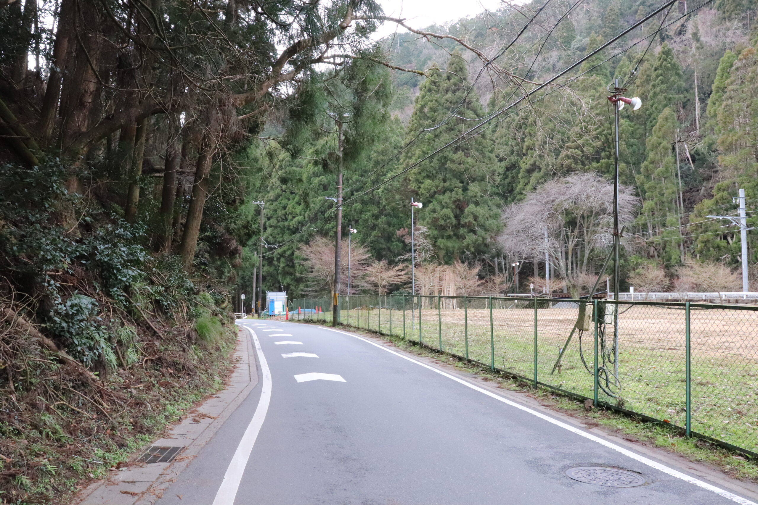 End of the Kitayama East Course