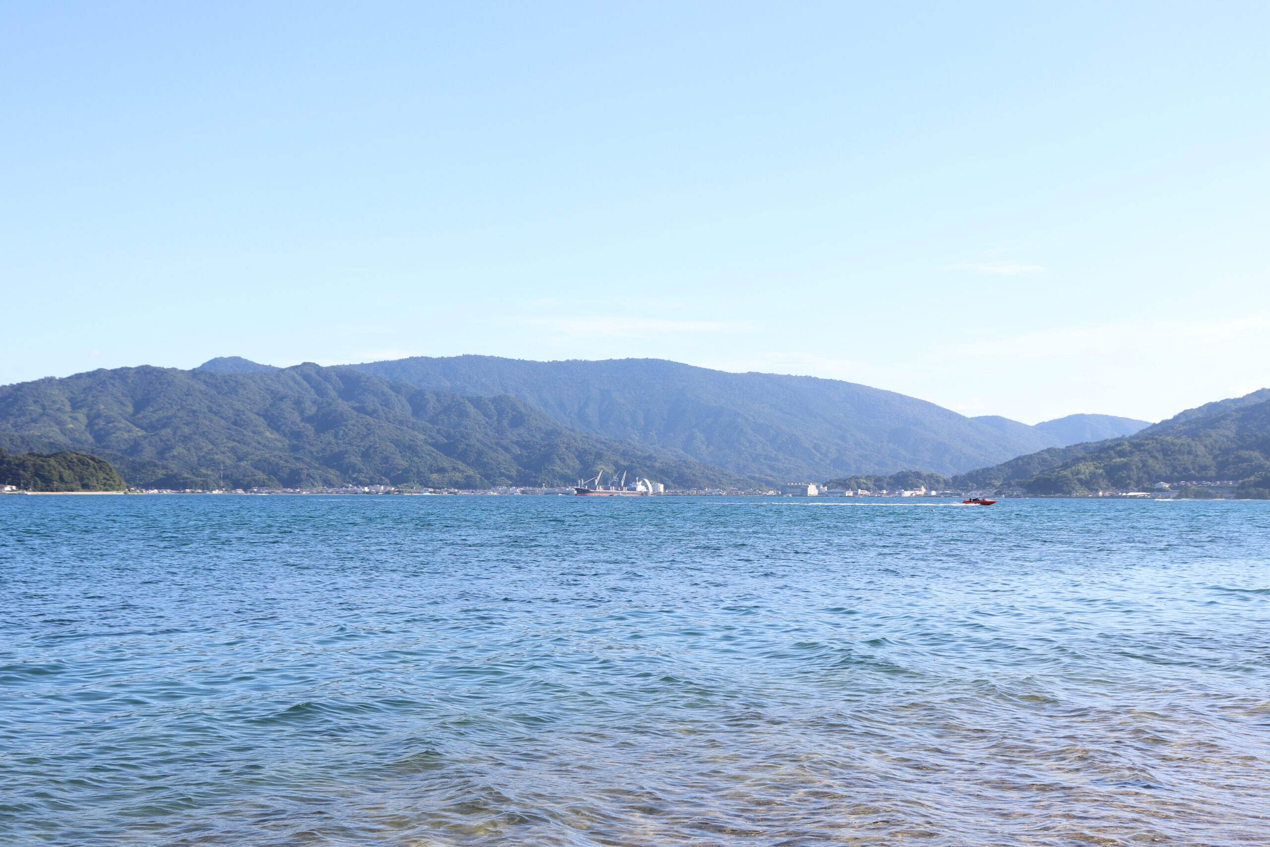 view Aso Inlet from Amanohashidate