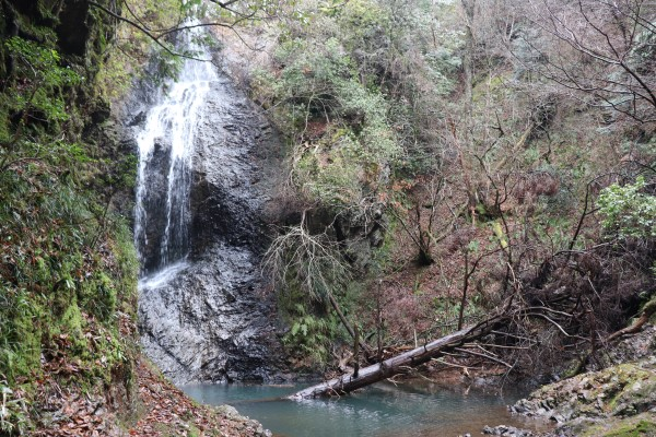 Takimatanotaki Waterfall on the Keihoku Course