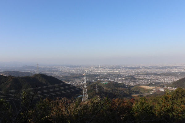 View from Mt. Nijo on the Diamond Trail, Japan
